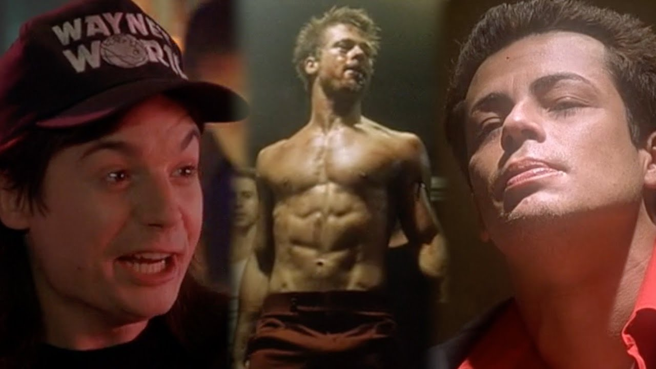 an analysis of the characters in the movie the fight club