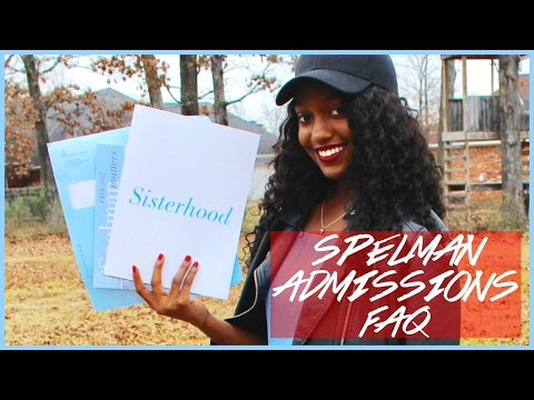 MY SPELMAN COLLEGE ADMISSIONS FAQ | KENNEDY SIMONE