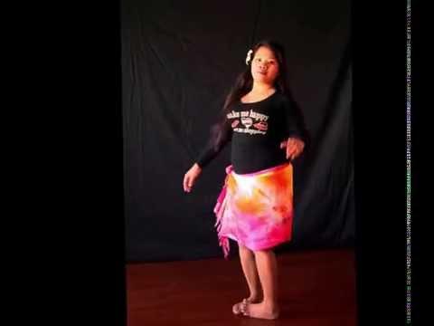 Some Tahitian & Polynesian dance moves