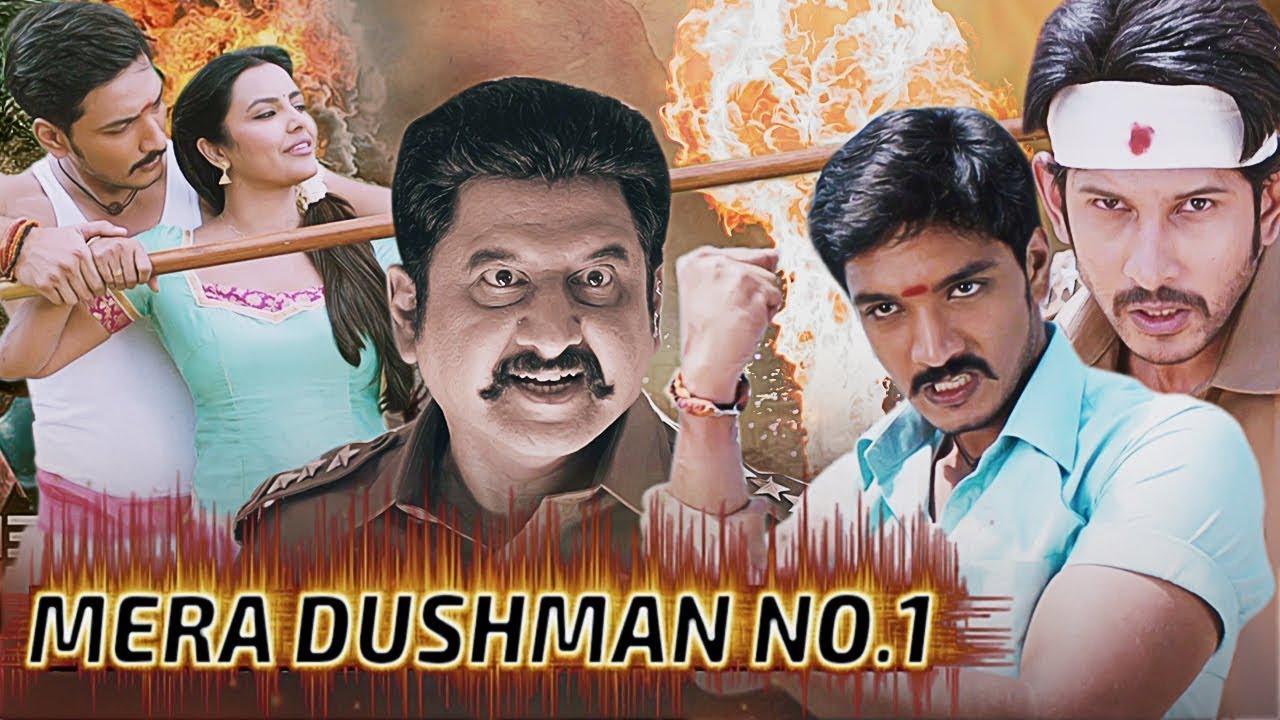 Mera Dushman No.1 Full Movie | Gautham Karthik, Priya Anand, Napoleon | Hindi Dubbed Action Movie