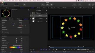 Apple Motion 5.3: Use Replicators To Create Patterns