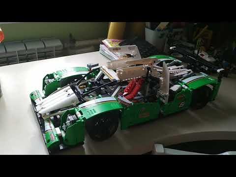 Лего Technik, гоночный автомобиль, 42039