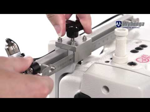 AHS Automatic Hook Supply and Pinch Pleat Industrial Sewing Machine