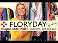 Floryday vacation fashions try on haul 2019 mp3