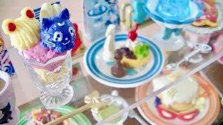 Re-ment Sailor Moon Crystal Cafe Sweets Collection Complete Set リーメント セーラームーンクリスタル カフェスイーツコレクション