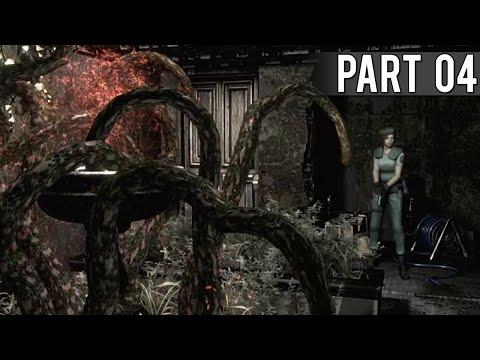 Resident Evil HD Remaster (Jill Walkthrough) - Part 4 - Death Mask Search