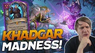 The Return of KHADGAR MADNESS! | Hearthstone Battlegrounds | Savjz