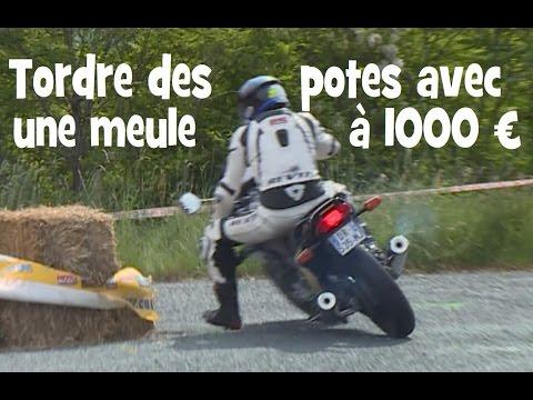 TORDRE DES POTES EN COMPETITION AVEC UNE MOTO A MOINS DE 1000 EUROS ► lolo cochet