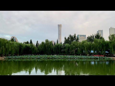 [4K] Walk in a Beautiful Afternoon Beijing TuanJieHu Park