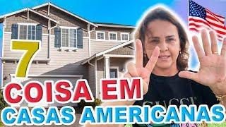 7 COISAS INCRÍVEIS QUE TEM EM TODAS AS CASAS AMERICANAS