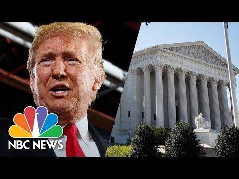 President Trump vs. Picks Brett Kavanaugh As Supreme Court Judge