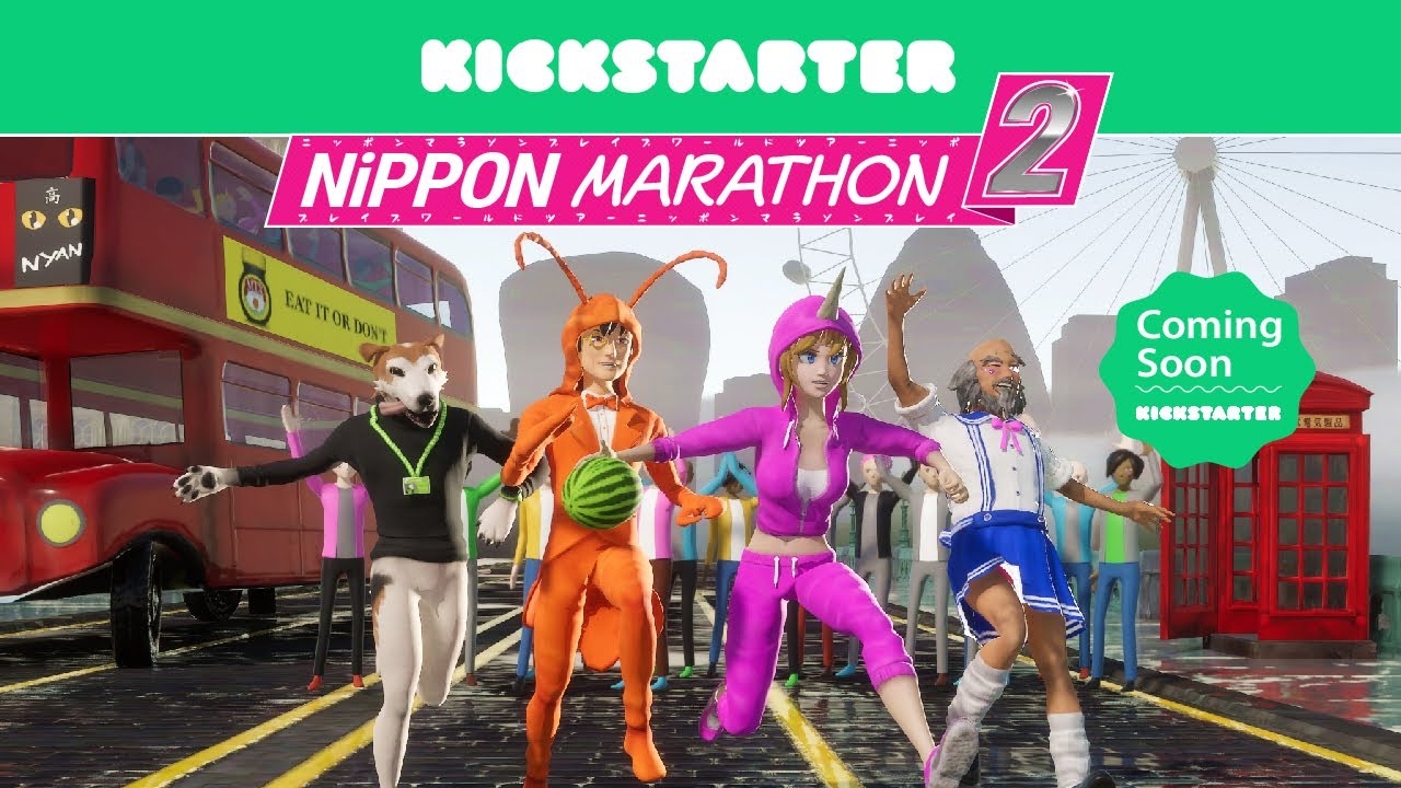 Nippon Marathon 2 Coming to Kickstarter 29th September!