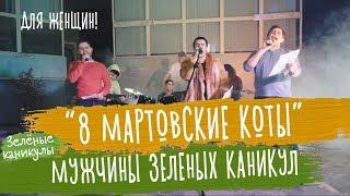 """""""8 мартовские коты"""" Поздравление девушек с праздником 8 марта"""