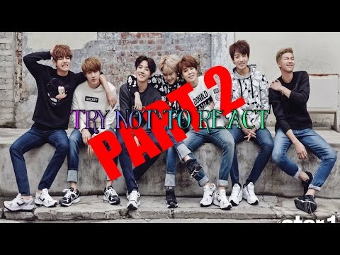 BTS - TRY NOT TO REACT (Part 2) {VERY HARD}