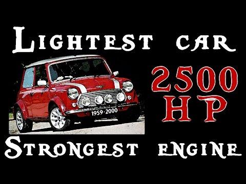 STRONGEST ENGINE IN THE LIGHTEST CAR - Pixel Car Racer  