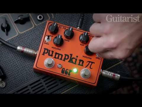Green Carrot Pumpkin Pi Distortion Pedal Demo
