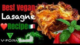 Best Vegan Lasagne Recipe - Vegan Mafia Style