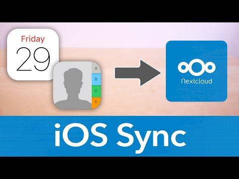 Kontakte & Kalender Von IPhone Und Mac Mit Nextcloud Synchronisieren -  ICloud Alternative?!