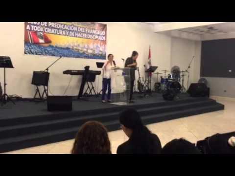 Preaching in Peru - 2