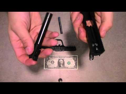 How to Field Strip Smith and Wesson M&P 9 (Full)