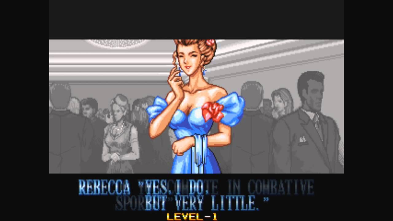Double Dragon Neo Geo Rebecca Ending Youtube