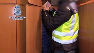 La Policía desarticula la organización trasnacional UNITED TRIBUNS