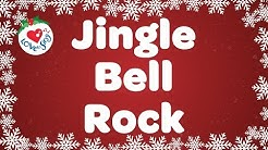 Jingle Bell Rock With Lyrics | Christmas Songs and Carols