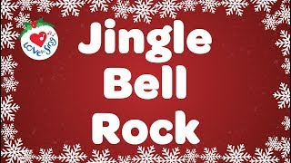 Jingle Bell Rock With Lyrics | Christmas Songs and Carols