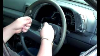 HowTo Remove A Steering Wheel & Replace It With Another One