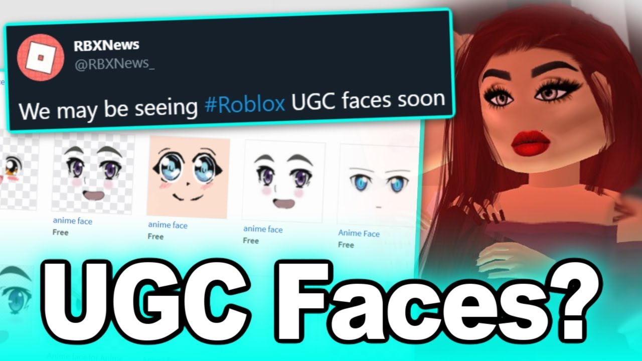 Roblox Releasing UGC Faces Soon? YouTube