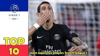 TOP 10 most expensive players French League 1 [2016]