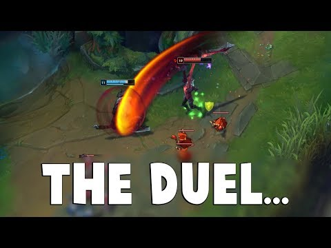 When Faker Duels Aatrox and it turns into Anime Battle... | Funny LoL Series #534
