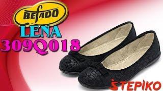 Женские текстильные балетки Befado Lena 309Q018. Видео обзор от WWW.STEPIKO.COM