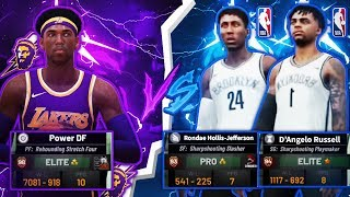 2 NBA STARS PULL UP ON ME IN NBA 2K19! FACING NBA STARS D'ANGELO RUSSELL & RONDAE JEFFERSON AT PARK