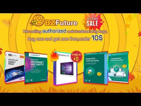 БЕСПЛАТНАЯ WINDOW 10 PRO OEM осенняя распродажа на BZFUTURE