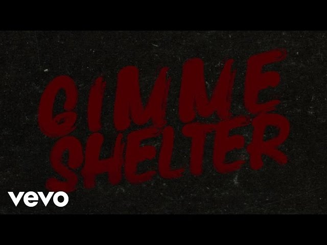 The Rolling Stones - Gimme Shelter (Official Lyric Video)