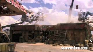 Terminator Salvation: Behind The Scenes (Broll) Part 1