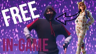 TUTO FORTNITE HOW TO HAVE THE IKONIC SKIN (In-Game)