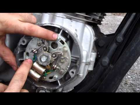 1975 cb750 wiring diagram ba falcon alternator how to adjust and restore points on your vintage motorcycle youtube