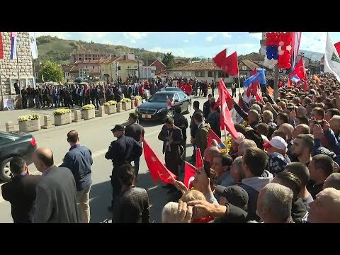 Cumhurbaşkanı Erdoğan Novi Pazar'da