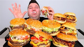Will I Gain Weight From 8 Double Cheeseburgers? • MUKBANG
