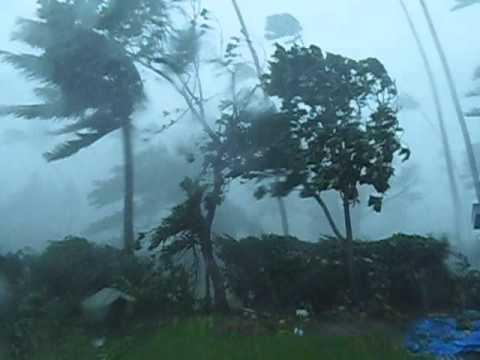 Tropical Cyclone Winston at Savusavu Fiji  20.02.2016