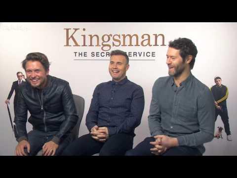 Take That - Kingsman interview 2015