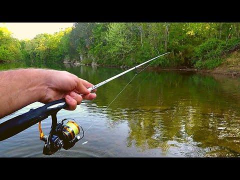 Evening Creek Wade Fishing