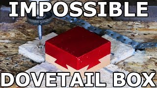 The Impossible Dovetail Box vs a 62,500 PSI Waterjet