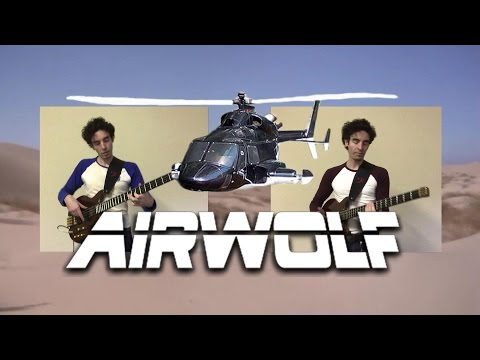 Airwolf Theme by Sylvester Levay (bass duet arrangement) - Karl Clews on bass