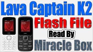 Lava Captain K1 Plus Flash File Download
