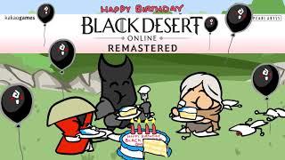 Black Desert Online 4th Anniversary [Cartoon Parody]