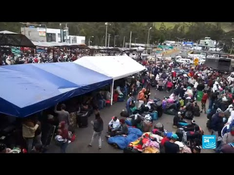Ecuador, Peru tighten border controls amid Venezuela emigration