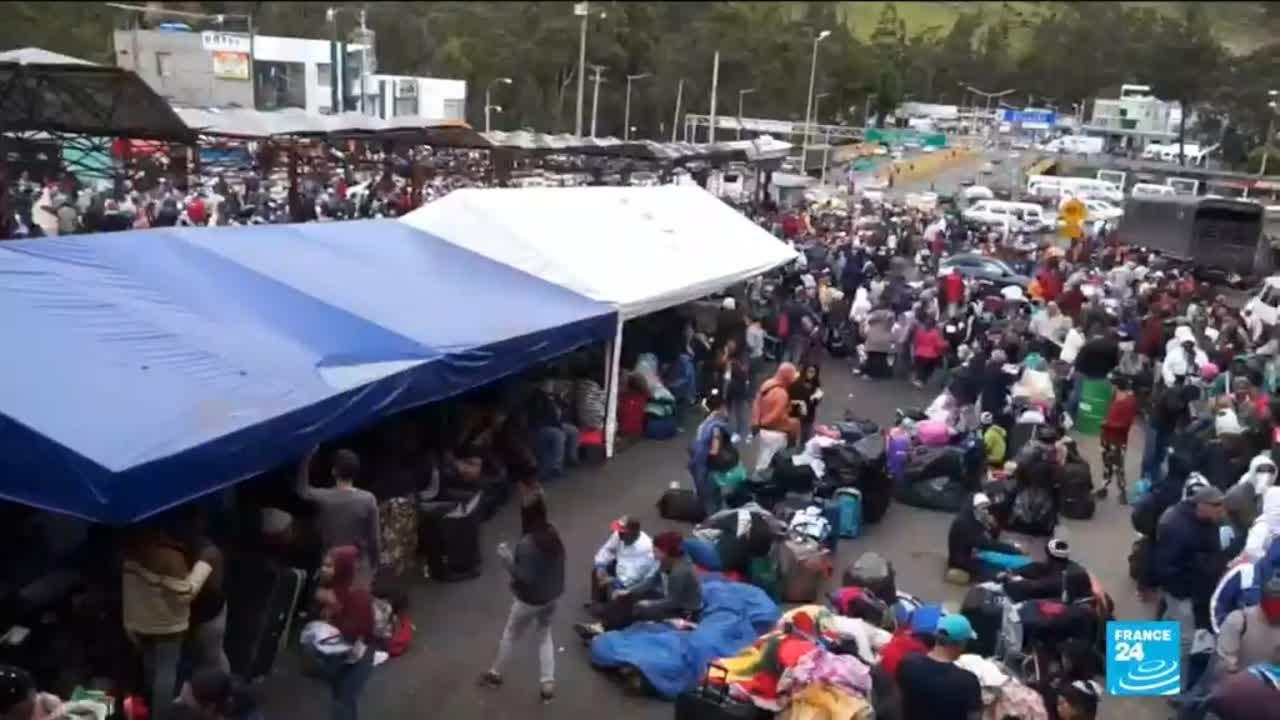 فرانس 24:Ecuador, Peru tighten border controls amid Venezuela emigration
